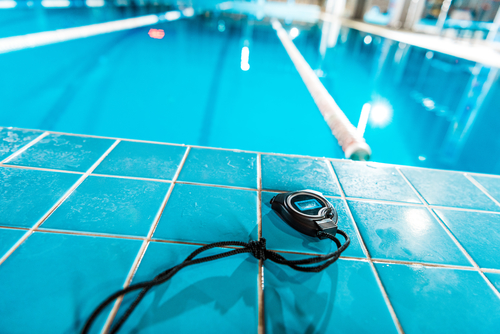 timer and pool